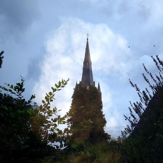 L'église envahie