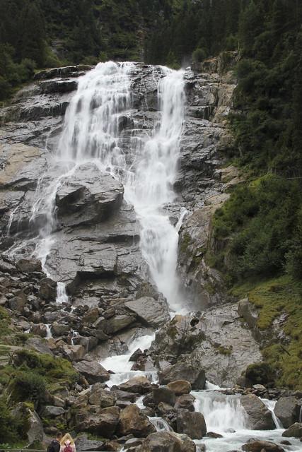 Grawa Wasserfall am 20.08.2020