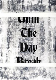 Zavier Ellis 'Until the Day Break II', 2020 Acrylic on digital gloss print 42x29.7cm