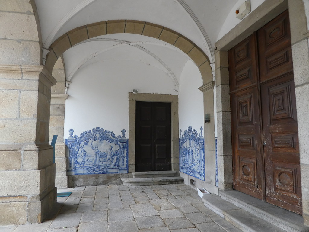 Guimaraes Convent entrance porch