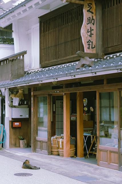 足助の街を歩く/Walking in Asuke Town