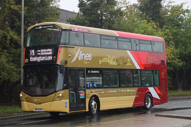 Go North East X-lines 6370 / NK70 BYH