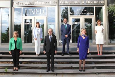 Nuevos vicerrectores de la UNED - 23 de septiembre 2020