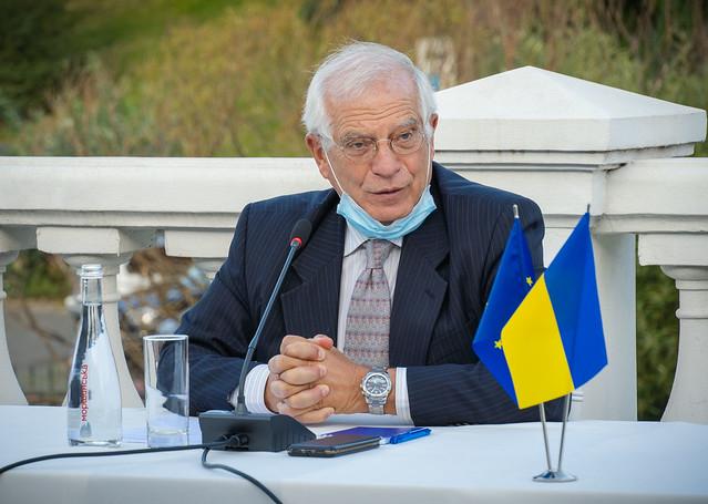 КМЄС відвідав Високий представник ЄС Жозеп Боррель
