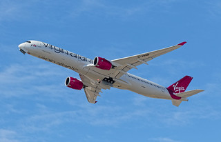 Delivery Flight msn415 G-VRNB 23/9/2020