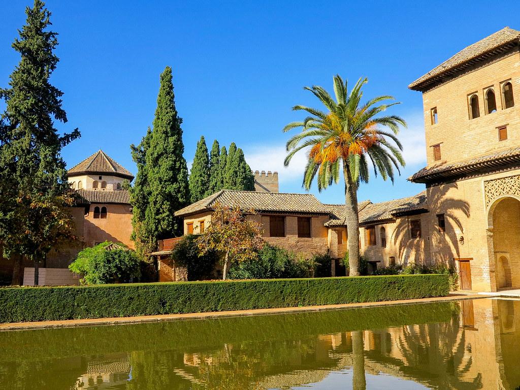 Palacio El Partal La Alhambra de Granada