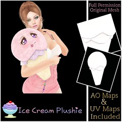 [Sherbert] Ice Cream Plushie Ad  - PSP Steal of the Week SALE 25L$