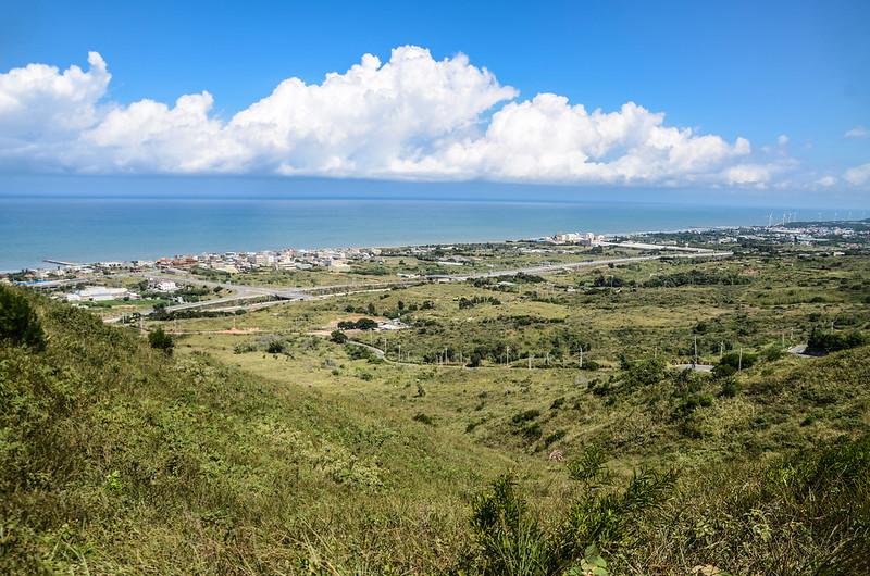 塗崁頂山俯瞰海岸線 (2)