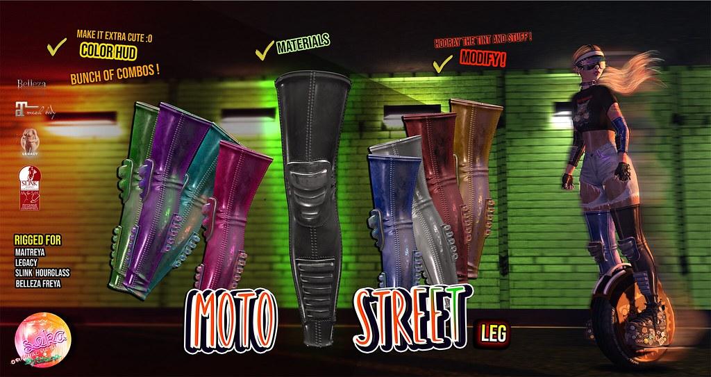 SEKA's Moto Street Leg @TheWarehouseSALE