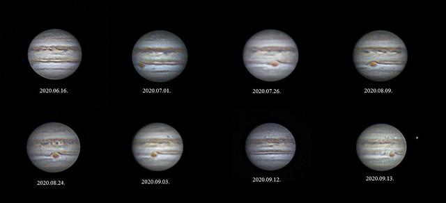 VCSE - A Jupiter különböző arcai - Fotók: Fridrich János
