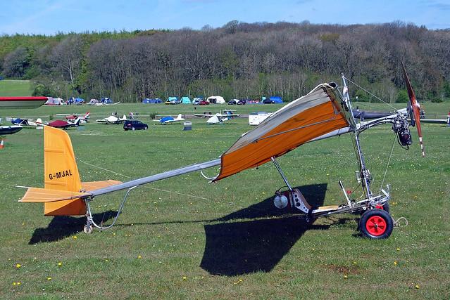 G-MJAL   Skycraft Scout Mk.III/3/R [0433 R/3] Popham~G 03/05/2014