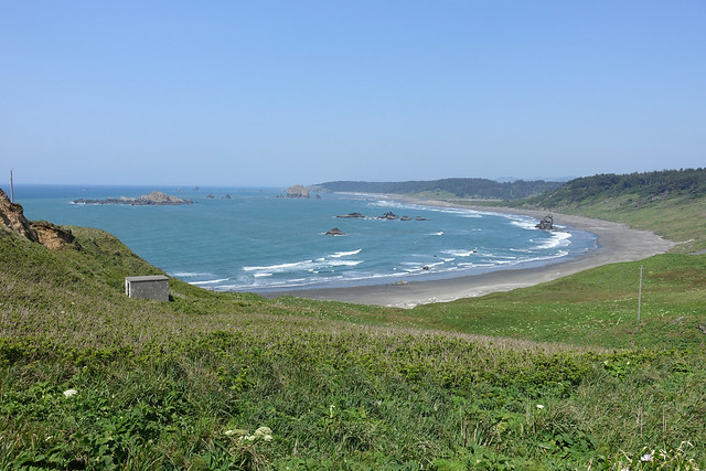 Beach View at Cape Blanco SP, OR