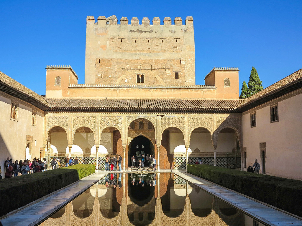 Palacios Nazaríes en La Alhambra