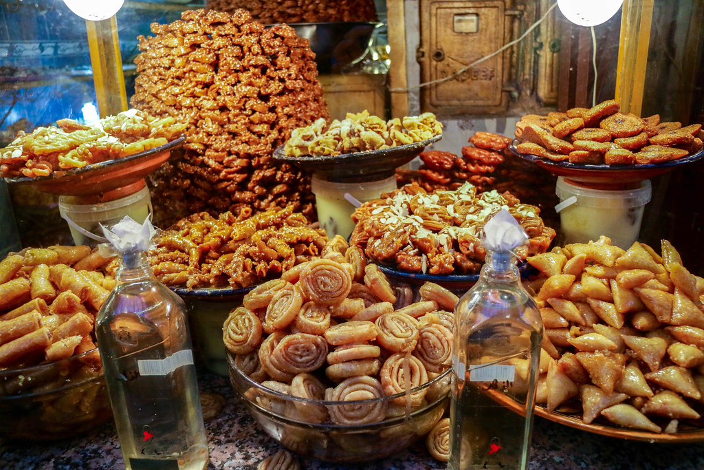 Dulces típicos de Marruecos