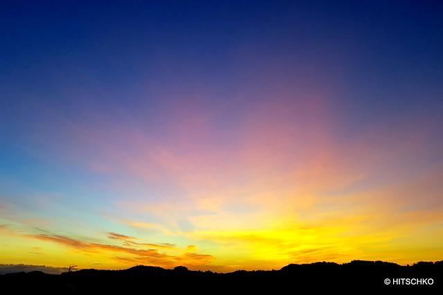 Sonnenaufgang bei Kaltacker