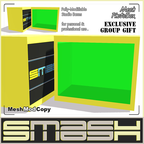 SMASH - Mesh PhotoBoxAD