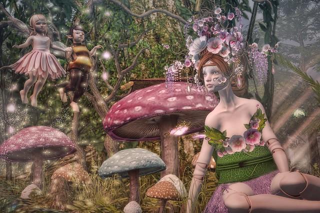 Listening fairy tales