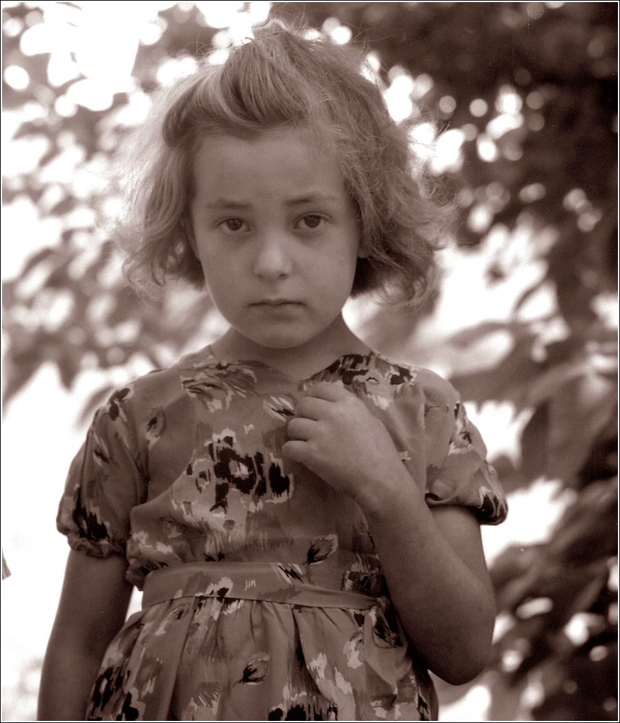 1967. Портрет серьезной девочки. Август
