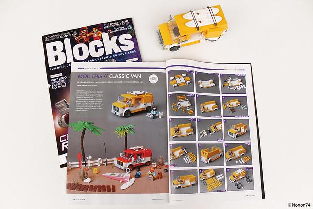 Blocks issue 69 | 2020 features Classic Van instructions