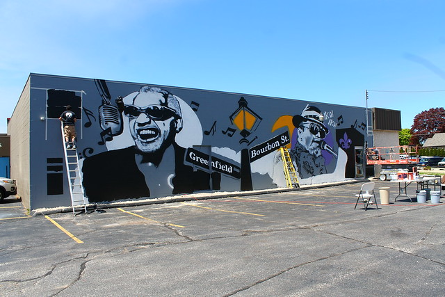 2020 Crawdaddy's on Greenfield Mural