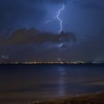 23. September 2020 - 20:46 - Fulmini su Taranto visti da Viale del Tramonto