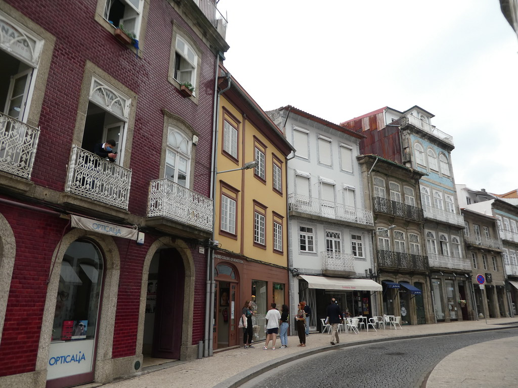 Medieval buildings in Guimaraes