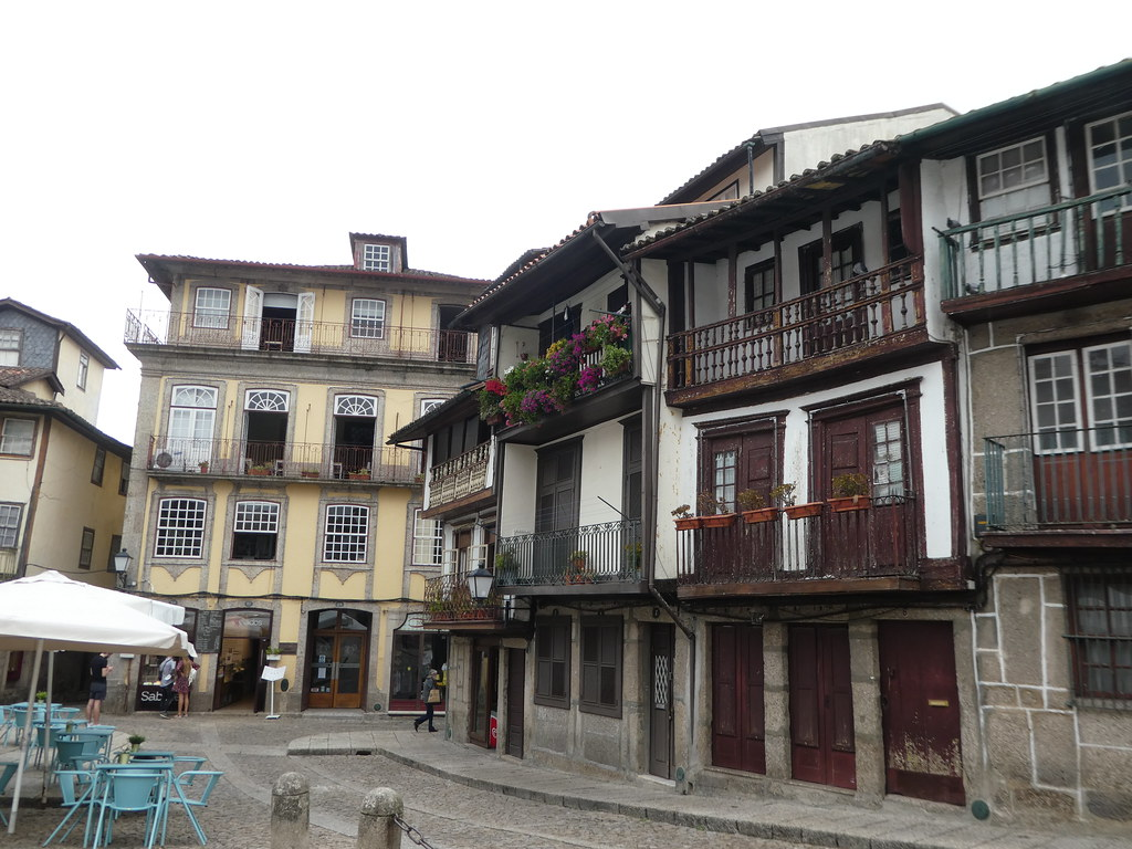 The historic centre of Guimaraes