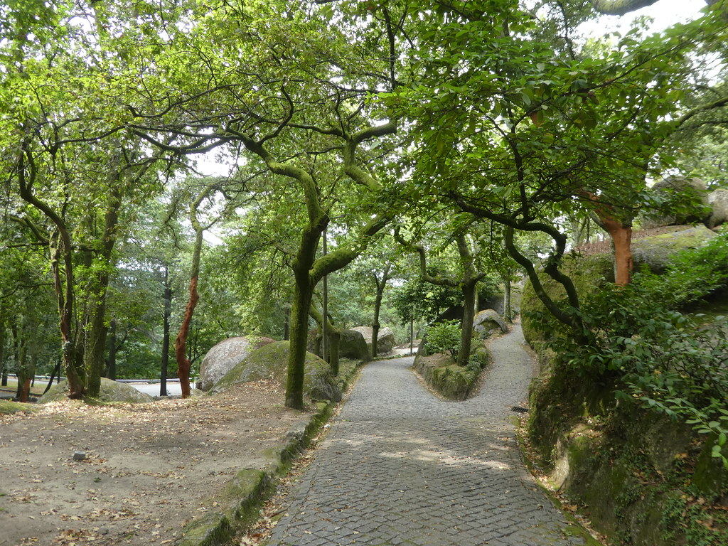 Walking trail, Penha Hill, Guimaraes
