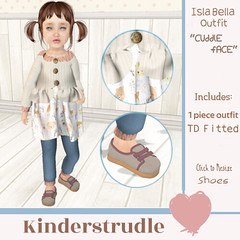 KS Isla Bella Outfit Cuddle Face - PSP Steal of the Week - 50% off this NEW RELEASE! (just 50L$)
