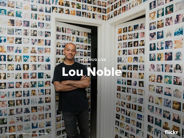 Lou Noble on SmugMug Live, 9/24 at 11am PDT