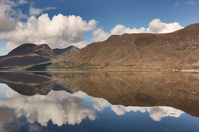 Upper Loch Torridon Reflection, Highlands, Scotland