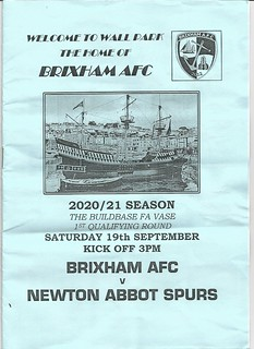 Brixham AFC Vs Newton Abbot Spurs