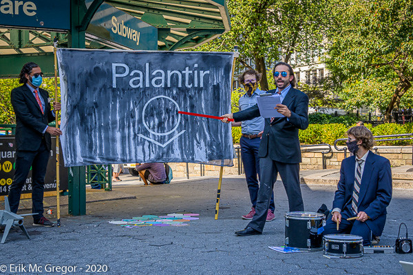 """History of Palantir"" Street Theater Performance"