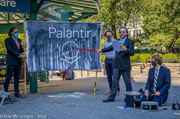 """History of Palantir"" Street Theater Performance"