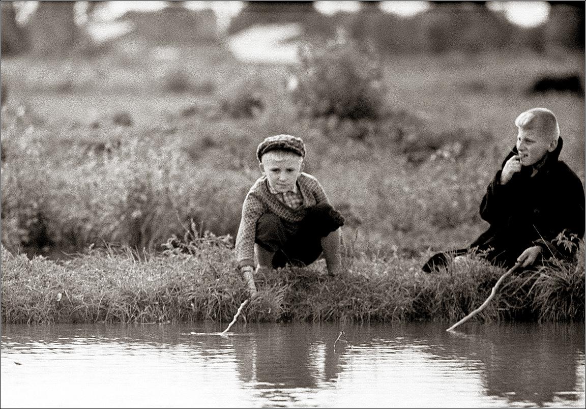 1967. Рыбаки