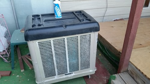 Swamp Cooler Cleaning