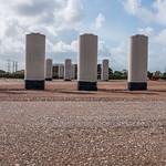 Flyover columns