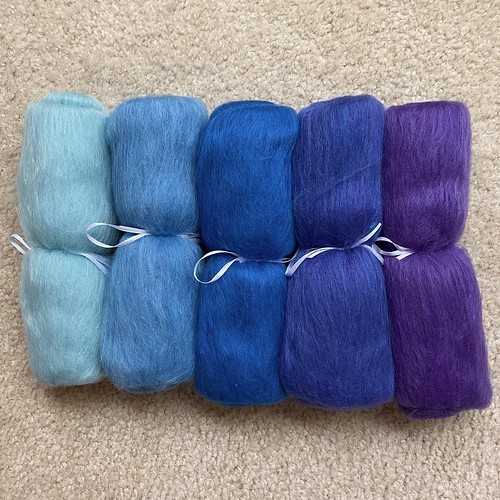 Mohave Turquoise fiber