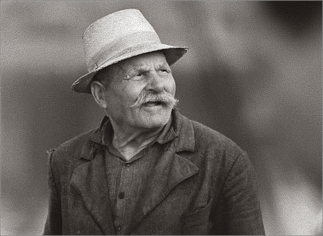 1967. Портрет селянина