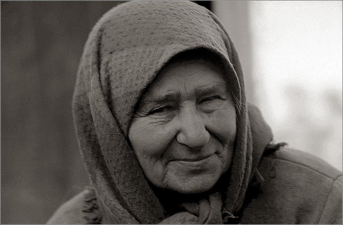 1968. Портрет пожилой женщины