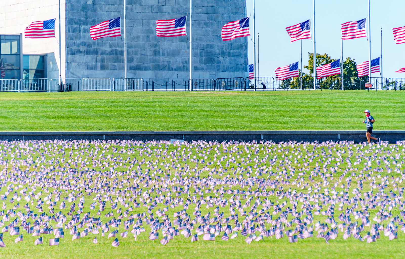 2020.09.23 Covid Memorial Project, Washington, DC USA