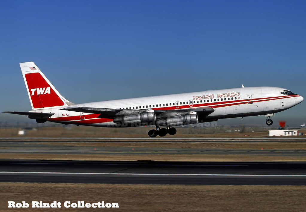 TWA B707-131B N6721