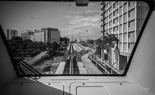 Miami mood - cabine métro