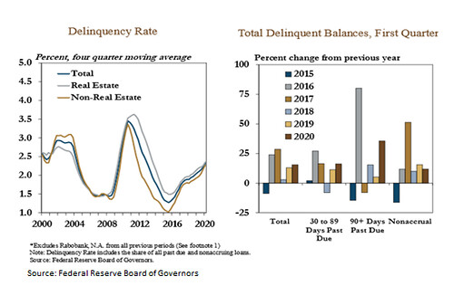 Delinquency Rates charts