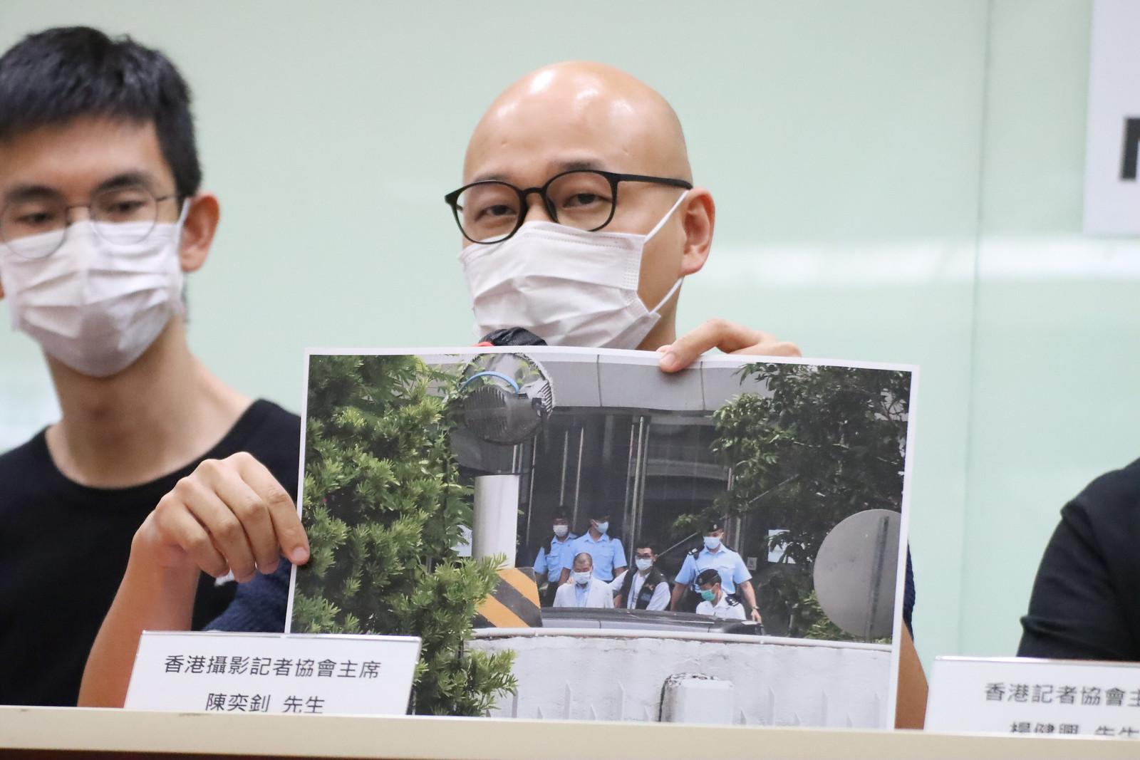 香港攝影記者協會主席 陳奕釗