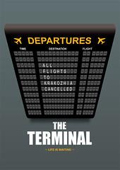 The Terminal - Alternative Movie Poster