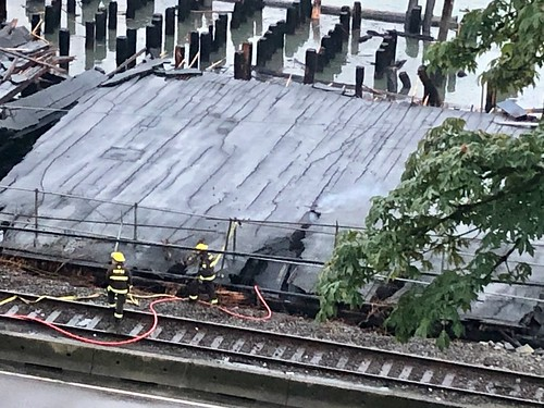 Aftermath of the New Westminster Pier Park fire