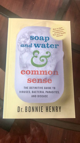 """""""Soap and water & Common Sense"""" by Dr. Bonnie Henry"""