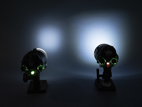 The YS-D3's target light is 4x brighter than the YS-D2s