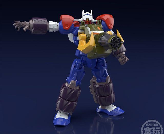 重裝威力升級!Super Minipla《GEAR戰士電童》全裝甲電童配件&數碼武器套組